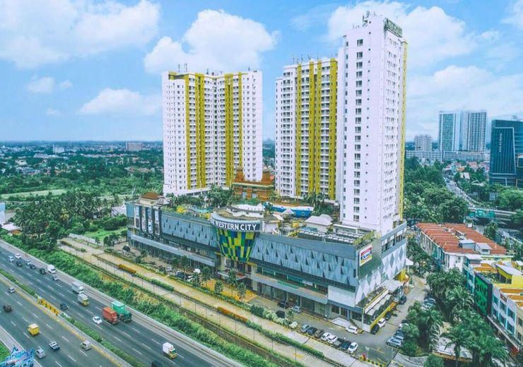 Opulence Folksy Hotel at Great Western Tangerang - exterior