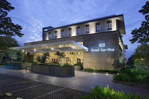 Hotel Santika Mataram - Tampilan Luar