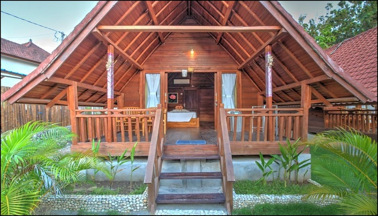 Gayatri Bungalows Nusa Penida Bali - exterior
