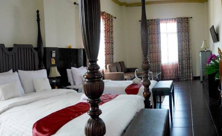 Syafira Hotel Tual Langgur Maluku - Kamar tamu