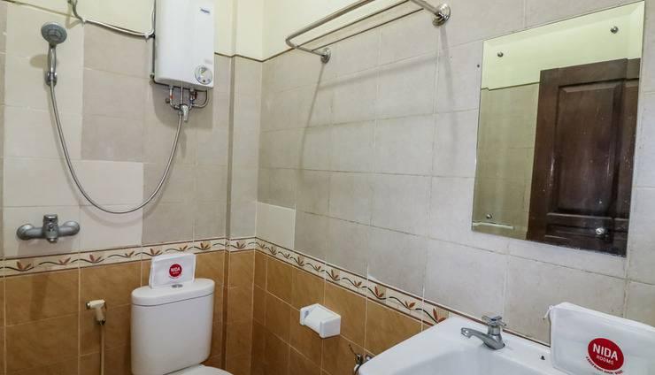 NIDA Rooms Sutomo 13A Pakualaman - Kamar mandi