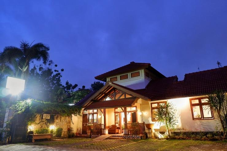 Rumah Mertua Heritage Yogyakarta - Tampak Depan Bangunan