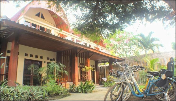 D'Gilian Bungalow Lombok - exterior