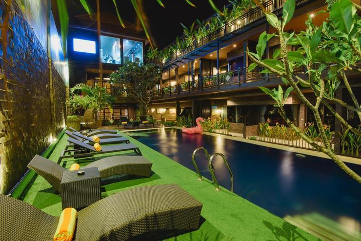 L Amore Hotel Seminyak Bali - interior