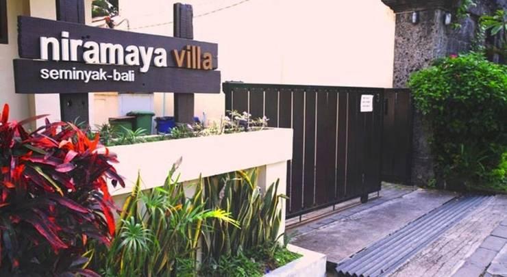 Niramaya Villa Bali - Tampilan Luar