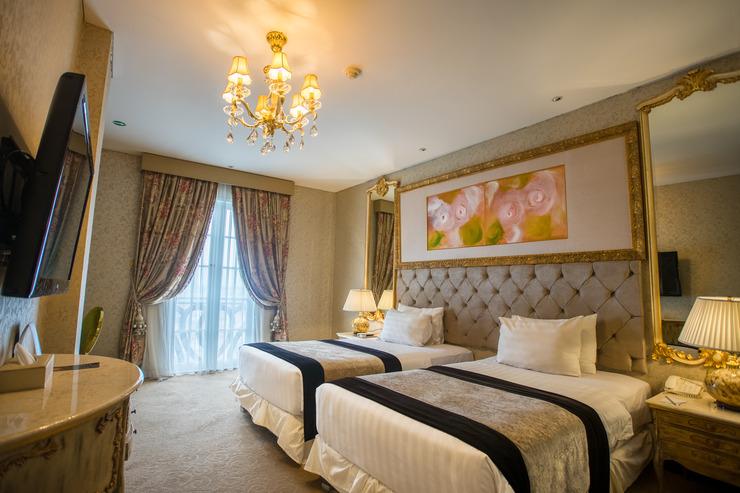 Hotel Amaroossa Bogor - kamar deluxe