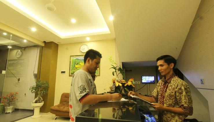 Hotel Mandari Bali - Penerima tamu