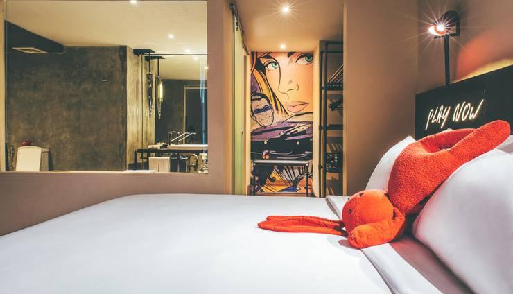 Dash Hotel Seminyak - Tempat Tidur Utama di Dash Two