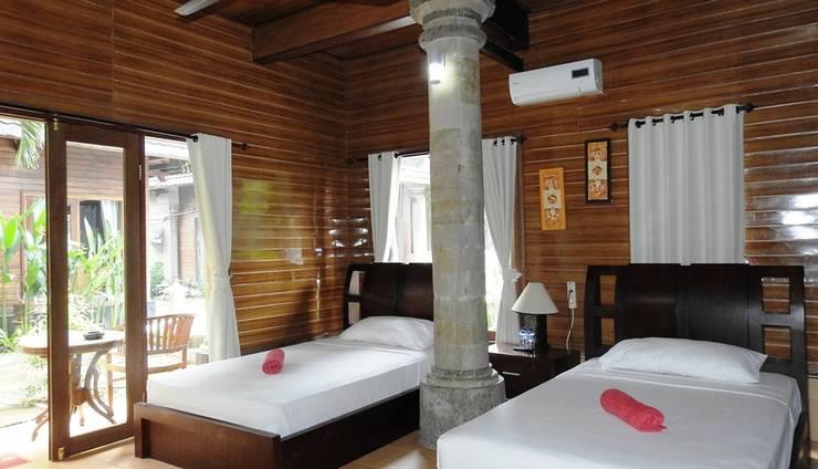 Villa Happy Jimbaran Bali - Tempat tidur Twin - Cottage standar