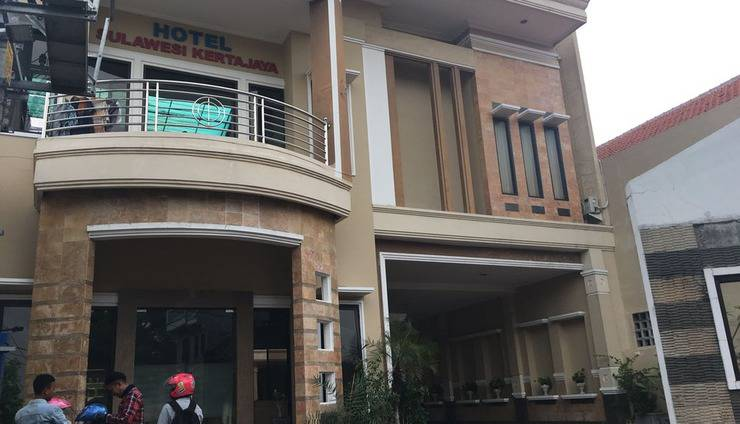 Hotel Sulawesi Kertajaya Surabaya - Tampak Depan