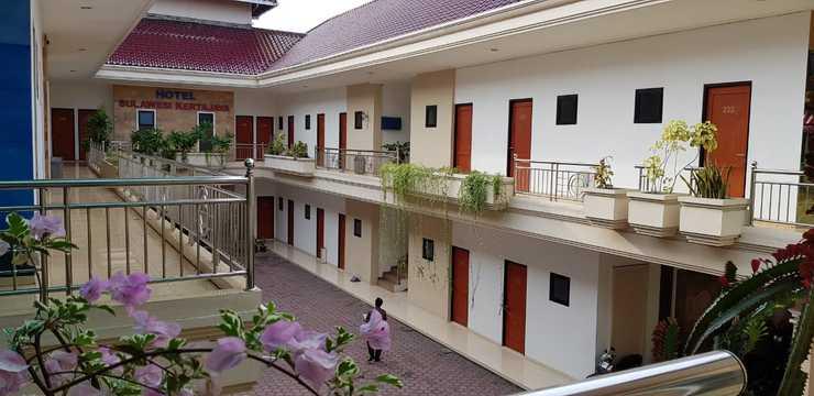 Hotel Sulawesi Kertajaya Surabaya - Terrace