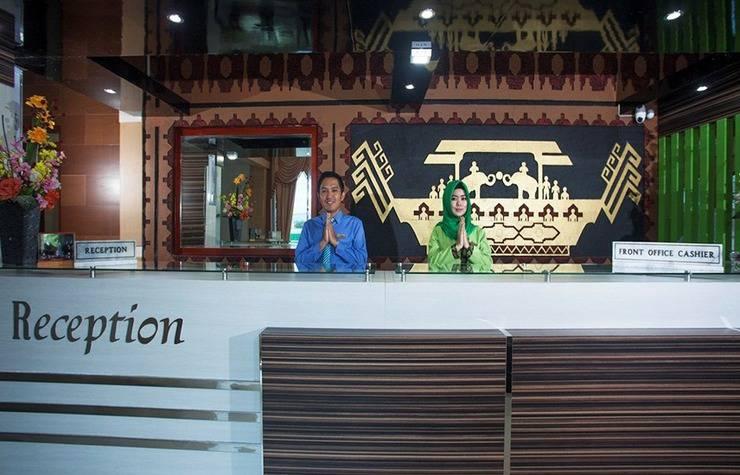 Hotel Nusantara Syariah Lampung - Reception
