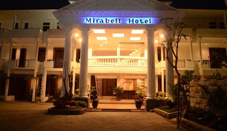 Mirabell Hotel & Convention Hall Malang - Tampak Depan