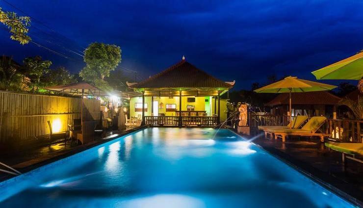 Taman Sari Villas Lembongan Bali - Kolam Renang