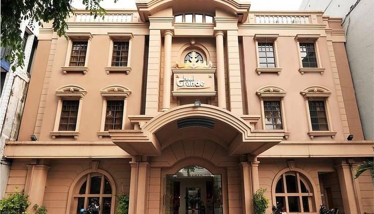 Hotel Grande Lampung - Tampilan Luar Hotel
