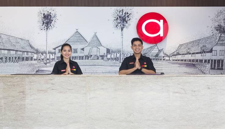 Amaris Hotel Pettarani Makassar - Resepsionis