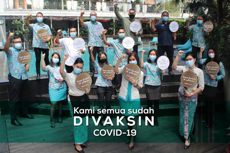 THE 101 Hotel Bogor - Staff Vaksin