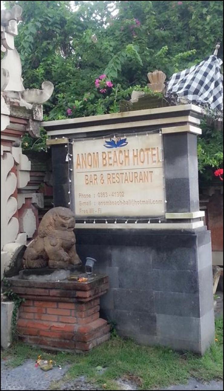 Anom Beach Hotel Bali - exterior