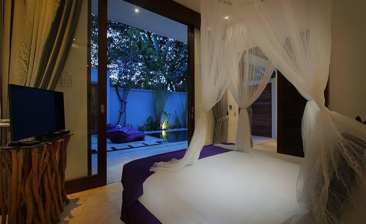 Anema Villa Seminyak - tempat tidur