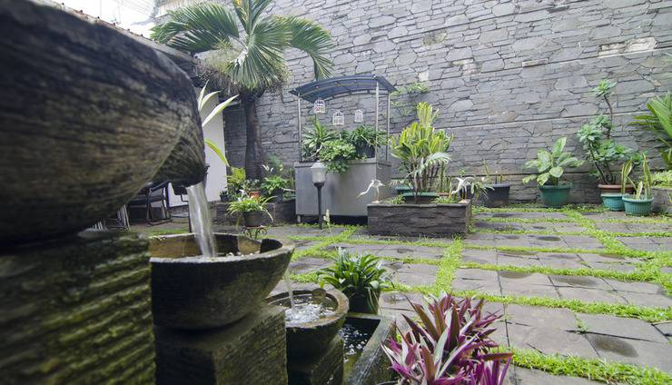 Guest House and Salon Spa Fora Lingkar Selatan Bandung - Taman