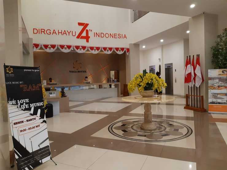 Vega Hotel Sorong Sorong - lobby