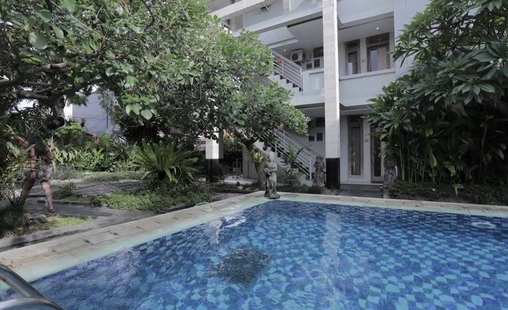 RedDoorz @Nyangnyang Sari Kuta Bali - Kolam Renang