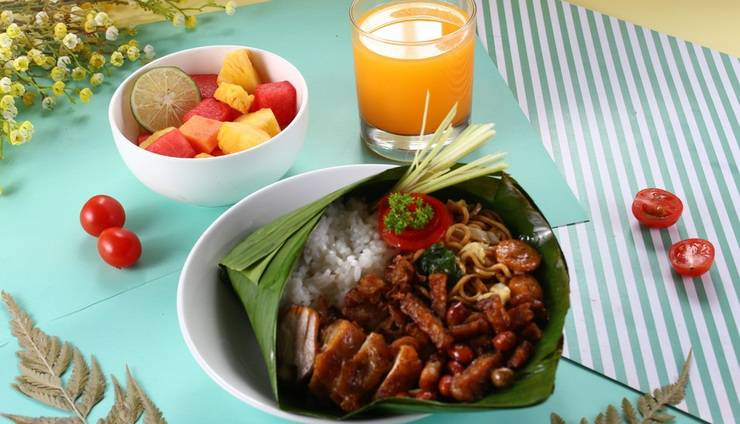 POP Hotel Teuku Umar - Breakfast