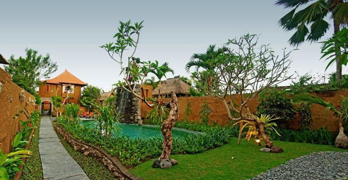 Tunjung Mas Bungalow Bali - Taman