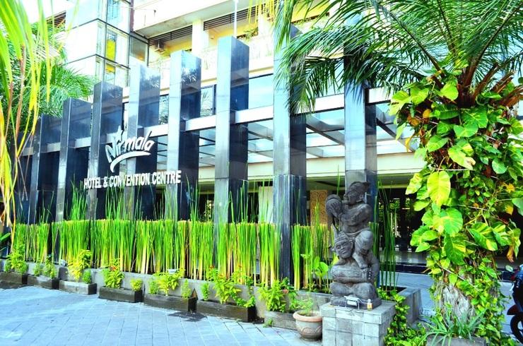 Hotel Nirmala Denpasar - Foto Depan Hotel