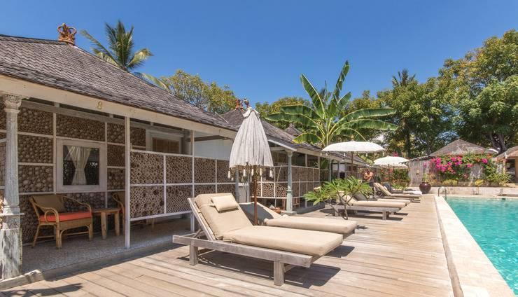 Les Villas Ottalia Gili Meno Lombok - Bungalows