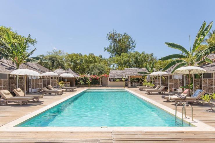 Les Villas Ottalia Gili Meno Lombok - Main Pool