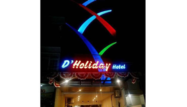 D'Hotel Holiday Makassar Makassar - Exterior
