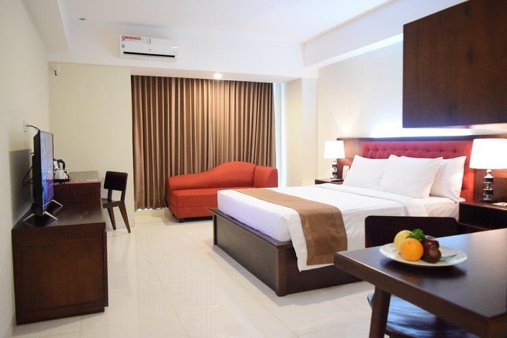 The Alana Yogyakarta Hotel Yogyakarta - Kamar tidur