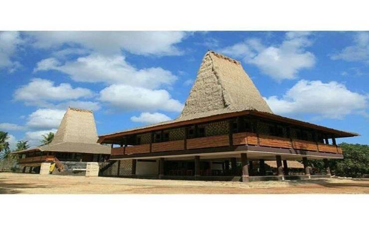 Rumah Budaya Sumba Pulau Sumba -