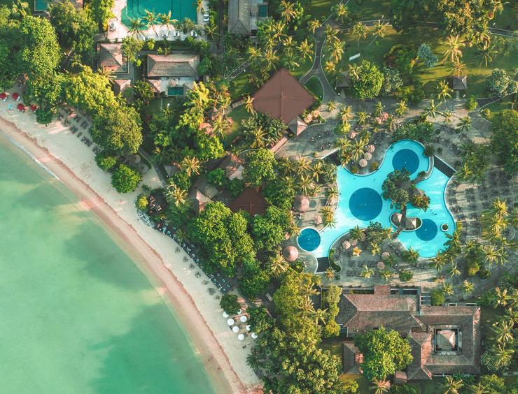 Melia Bali - meliabali-aerialview