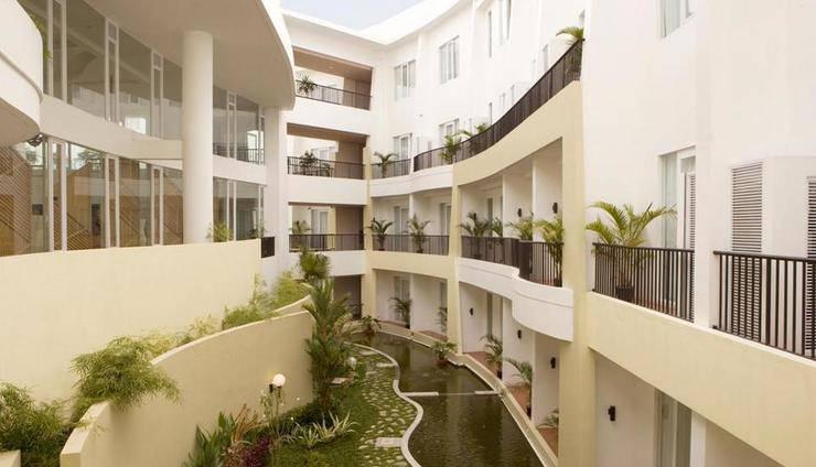 Hotel Santika Bangka - view
