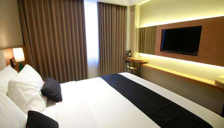 Yellow Star Ambarukmo Hotel Yogyakarta - Single Bed