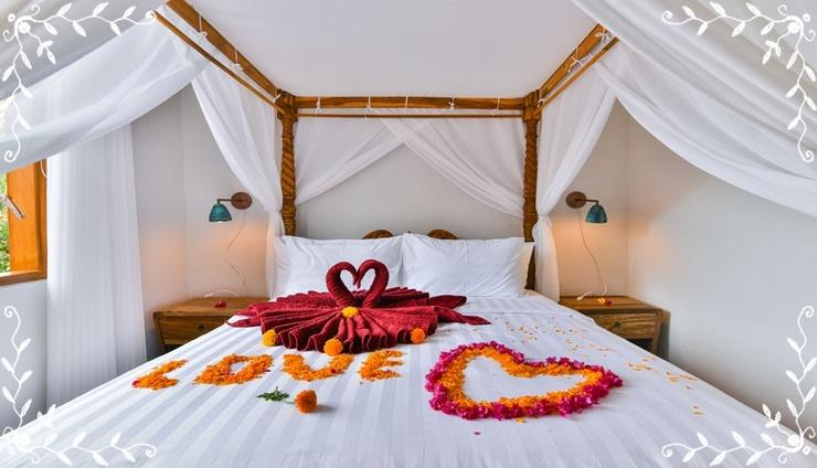 Villa Spice House Inn Upstairs Bali - Bedroom