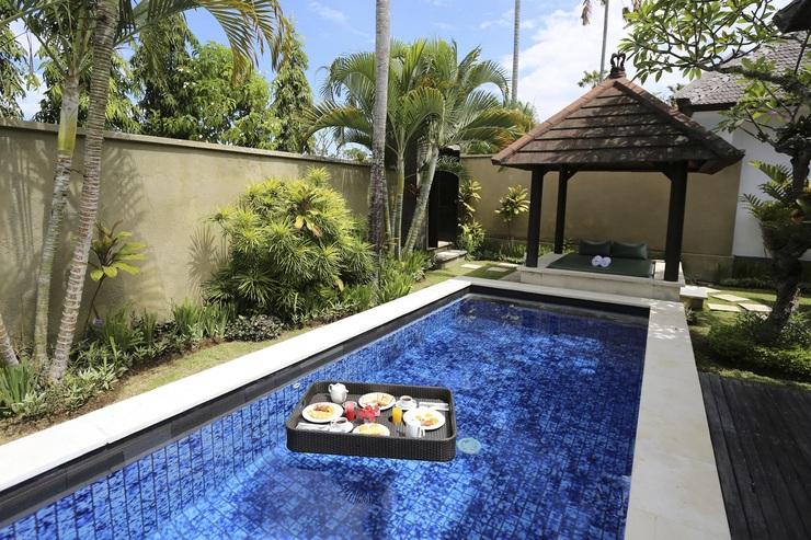 The Bidadari Villas & Spa Bali - Floating Breakfast in One Bedroom Villa