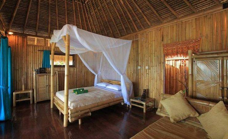 Rinjani Beach Eco Resort Lombok - Kamar tamu