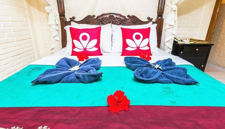 ZenRooms Bisma ubud 2 Bali - Tampak tempat tidur double