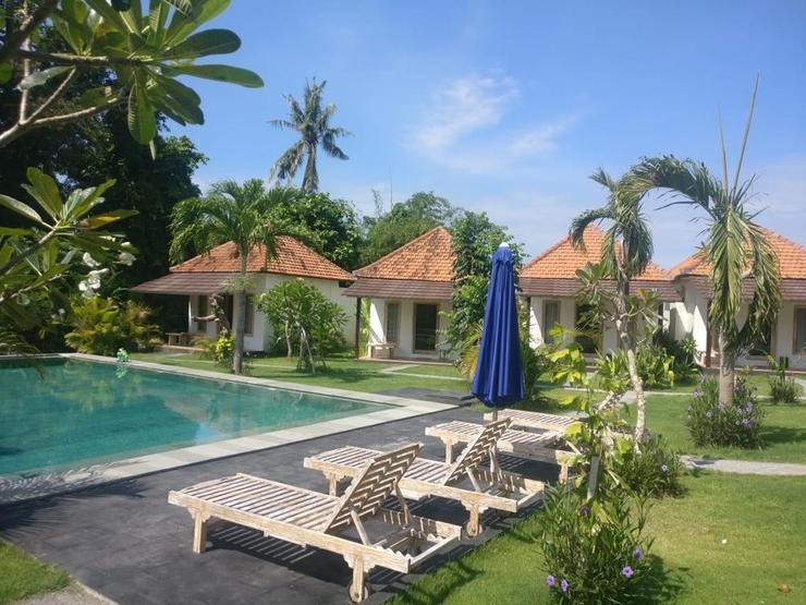 Agung Wiwin Bungalows Bali - Facade