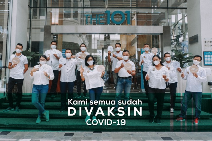 THE 1O1 Yogyakarta Tugu Jogja - Staff Vaksin