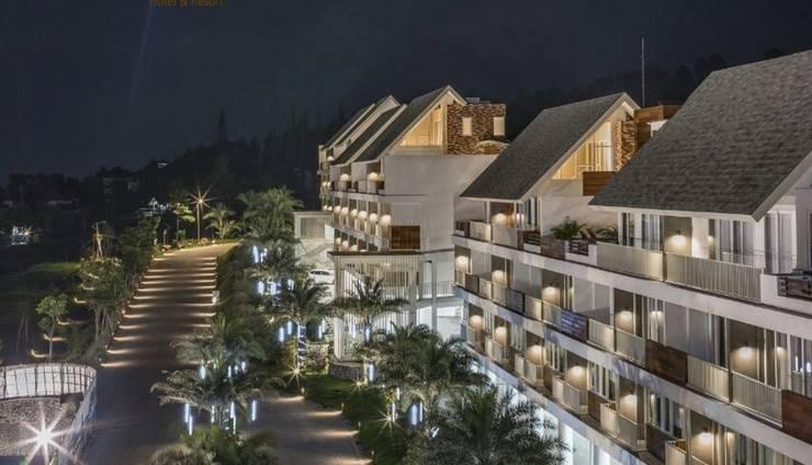 Amartahills Hotel and Resort Batu Malang - Pemandangan dari AmartaHills Hotel dan Resort