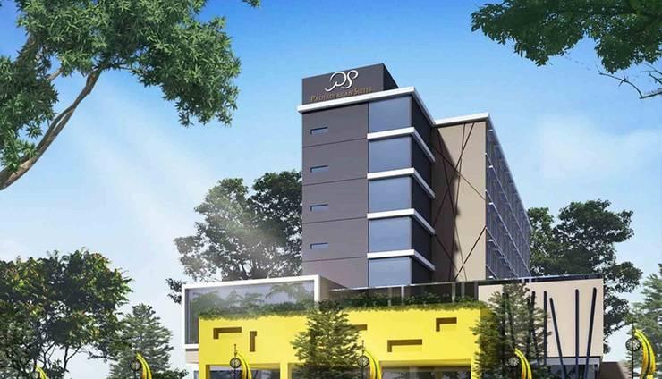 Padjajaran Suite Hotel Tangerang - Tampilan Luar Hotel