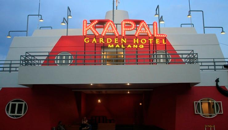 Kapal Garden Hotel Malang - Exterior