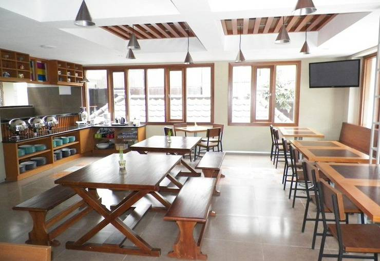 Tibera Hotel Taman Cibeunying Bandung - Restoran