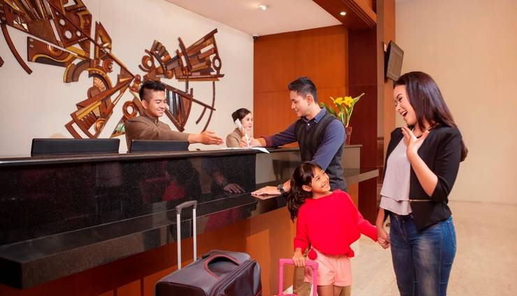 PRIME PARK Hotel Bandung - Reception