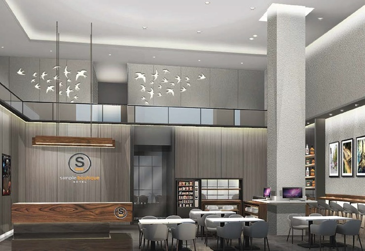 Simple Hotel Jakarta Wahid Hasyim Jakarta - Lobby
