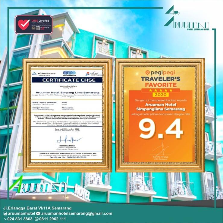 Aruuman Hotel Simpanglima Semarang Semarang - CHSE